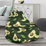 Avocado Pattern Print Design AC07 Bean Bag Chairs