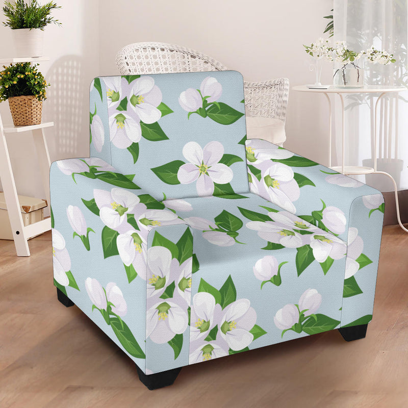 Apple blossom Pattern Print Design AB04 Armchair Slipcover