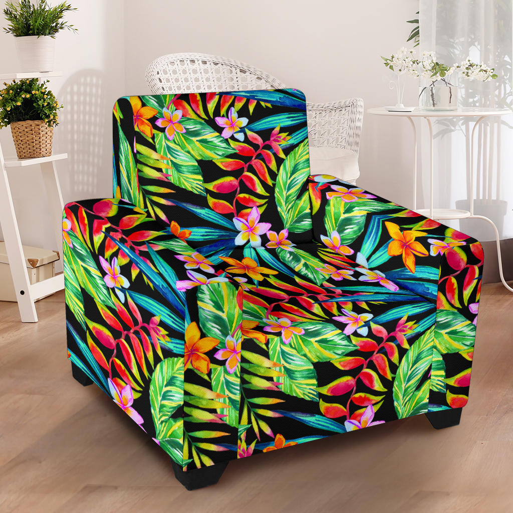Heliconia Pattern Print Design HL09 Armchair Slipcover ...
