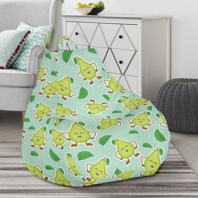 Avocado Pattern Print Design AC011 Bean Bag Chairs