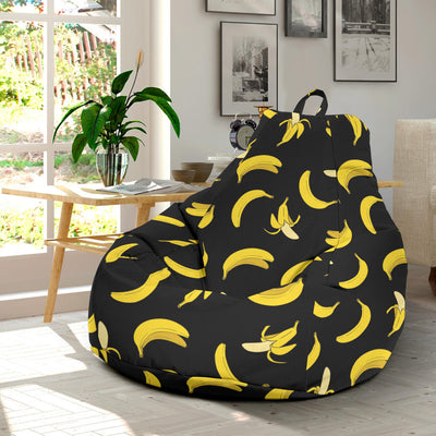 Banana Pattern Print Design BA05 Bean Bag Chairs