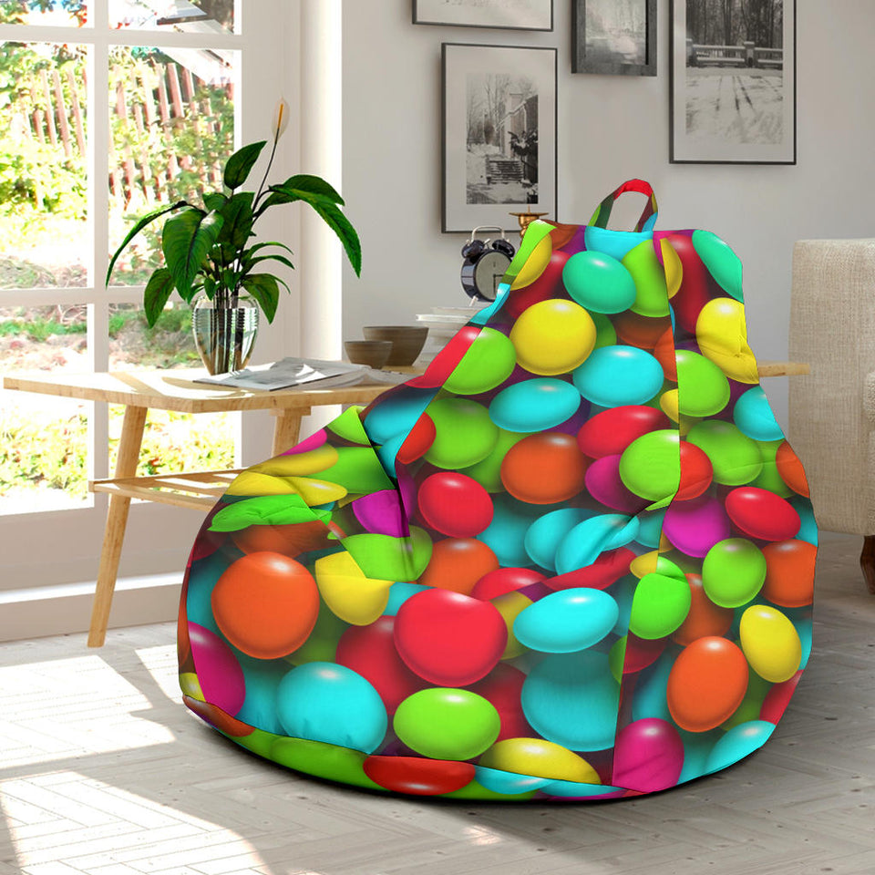 Candy Pattern Print Design CA03 Bean Bag Chairs