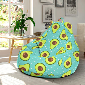 Avocado Pattern Print Design AC012 Bean Bag Chairs