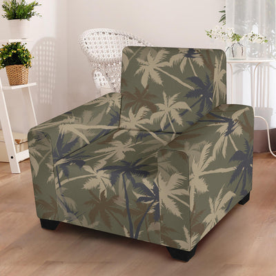 Palm Tree camouflage Armchair Slipcover