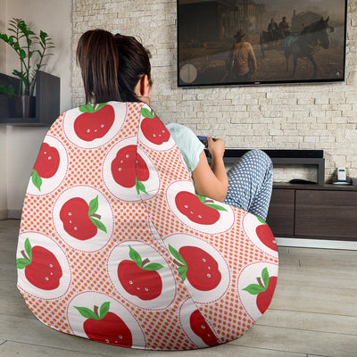 Apple Pattern Print Design AP08 Bean Bag Chairs