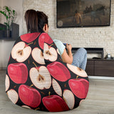 Apple Pattern Print Design AP02 Bean Bag Chairs