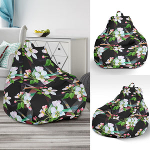 Apple Blossom Pattern Print Design AB07 Bean Bag Chairs