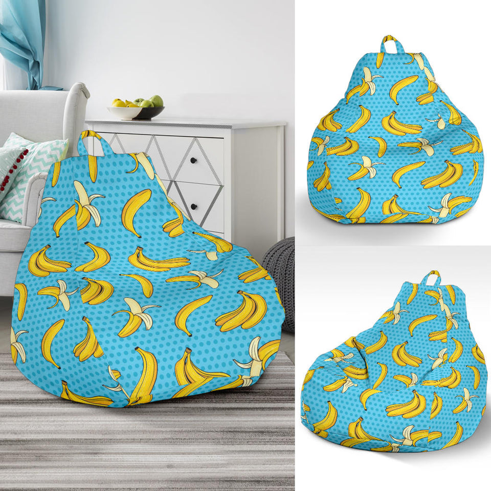 Banana Pattern Print Design BA08 Bean Bag Chairs