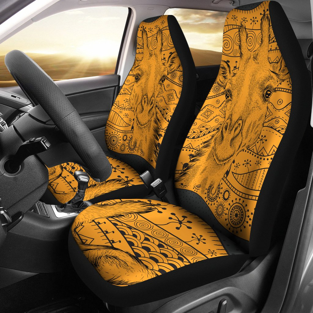 Giraffe African Universal Fit Car Seat Covers