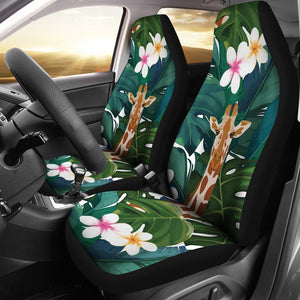 Giraffe Jungle Design Print Universal Fit Car Seat Covers