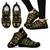 Tribal Aztec Sea Turtle Hawaiian Flower Women Sneakers