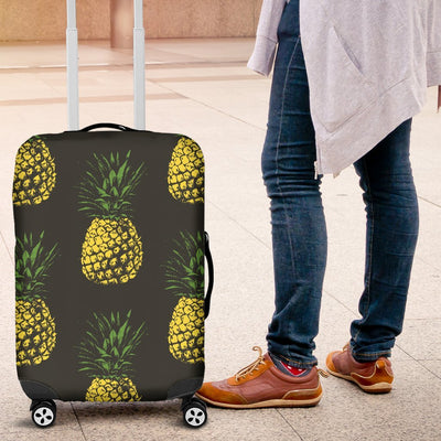 Gold Pineapple Luggage Protective Cover