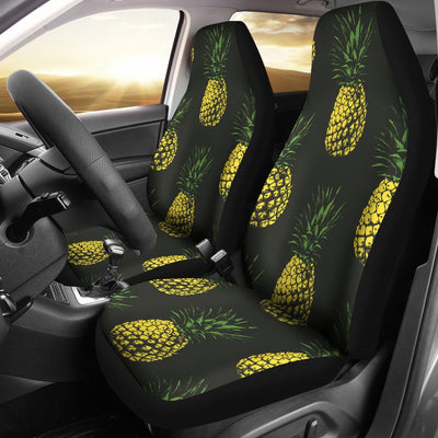 Gold Pineapple Universal Fit Car Seat Covers