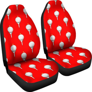 Golf Ball Pattern Universal Fit Car Seat Covers