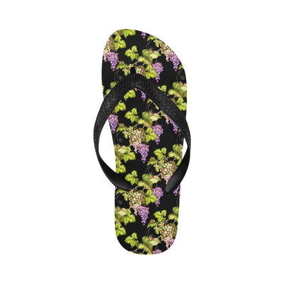 Grape Pattern Print Design GP04 Flip Flops-JorJune