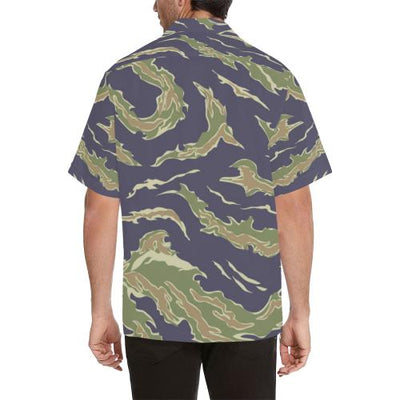 Green Camo Men Hawaiian Shirt