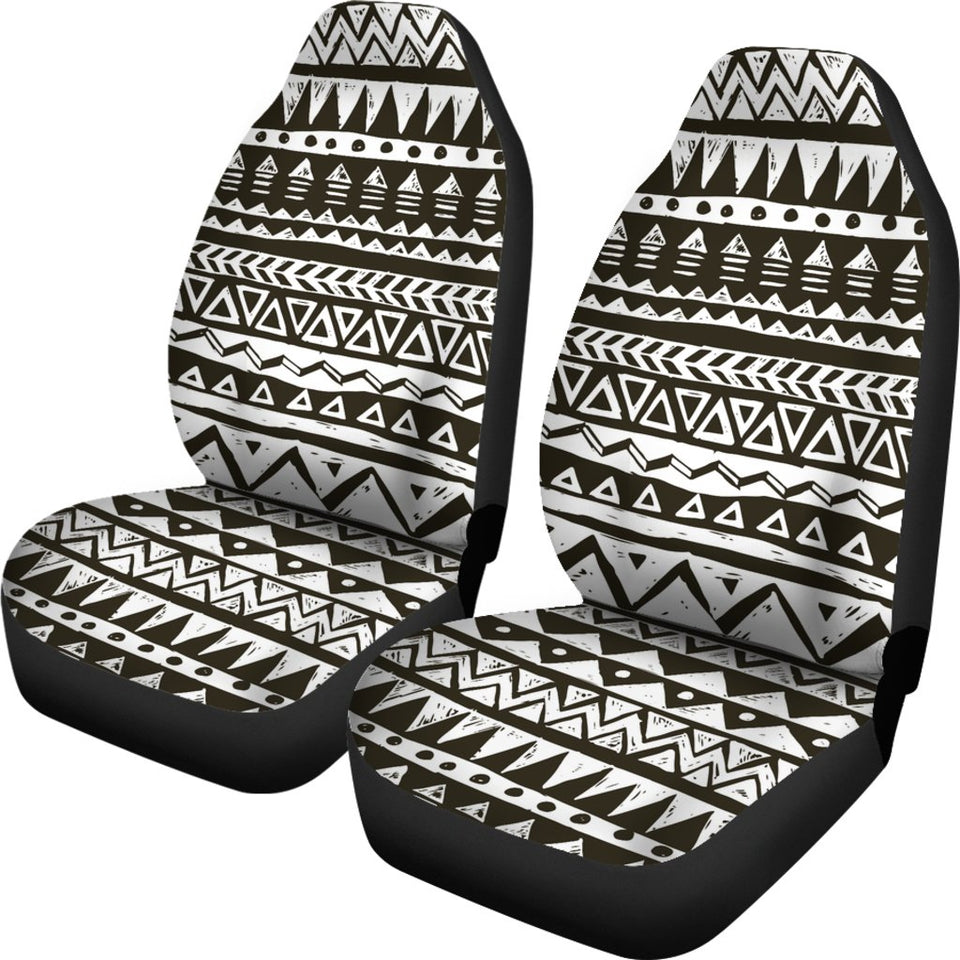 Hand Draw Tribal Aztec Universal Fit Car Seat Covers