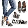 Hand draw Tribal Aztec Women Casual Shoes-JorJune.com