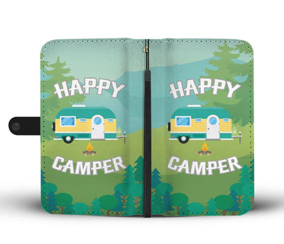 Happy camper camping Wallet Phone Case