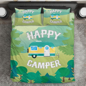 Happy Camper Duvet Cover Bedding Set