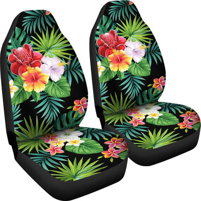Hibiscus Hawaiian flower tropical Universal Fit Car Seat Covers