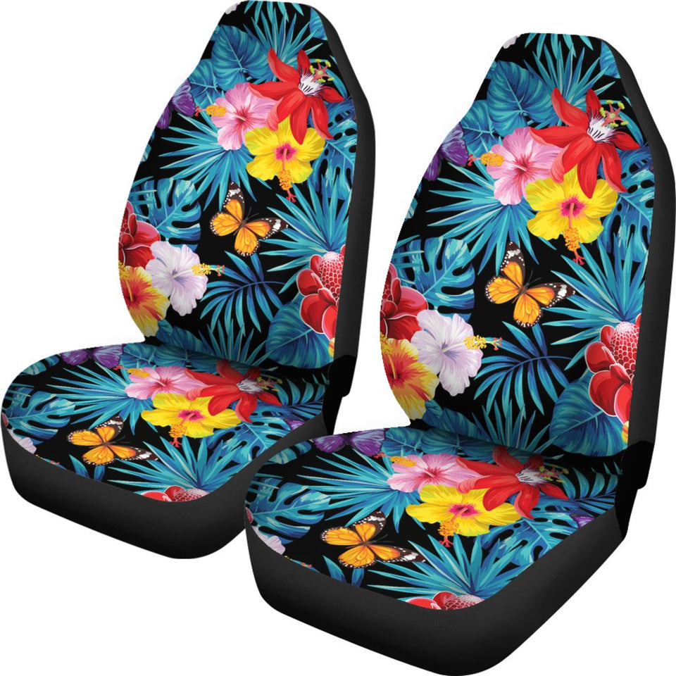 Hibiscus butterfly hawaiian flower universal fit car seat covers hibiscus butterfly hawaiian flower universal fit car seat covers izmirmasajfo