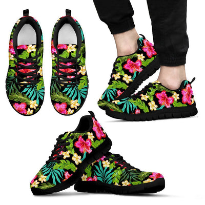 Hibiscus Colorful Hawaiian Flower Men Sneakers