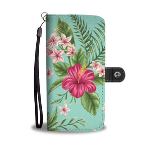 hibiscus Hawaii flower Wallet Phone Case