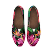 Hibiscus Hawaiian Design Print Pattern Women Casual Shoes-JorJune.com