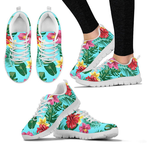 Hibiscus Hawaiian Flower Women Sneakers