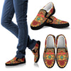 Hippie Van Mandala Men Canvas Slip On Shoes