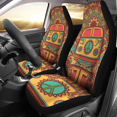 Hippie Van Mandala Universal Fit Car Seat Covers