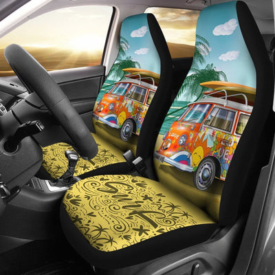 Hippie van surf Universal Fit Car Seat Covers