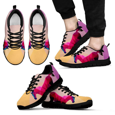 Horse Design Colorful Men Sneakers