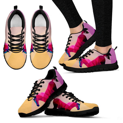Horse Design Colorful Women Sneakers