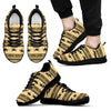 Horse Pattern Print Men Sneakers