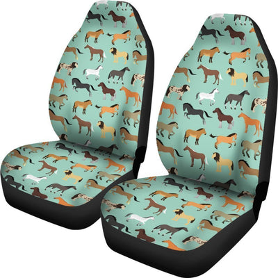 Horse Pattern Universal Fit Car Seat Covers