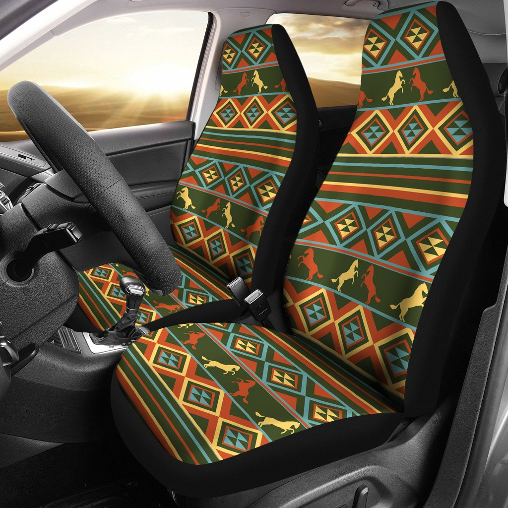 Horse Western Pattern Universal Fit Car Seat Covers