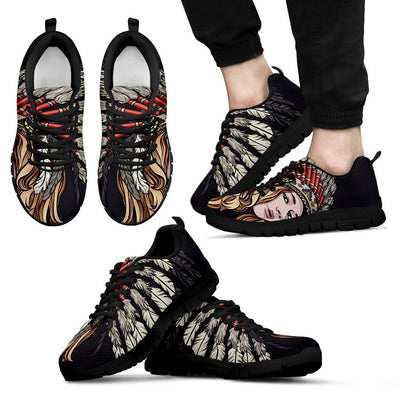Indian girl Men Sneakers