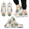 Indian Skull Pattern Men Sneakers