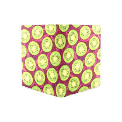 Kiwi Pattern Print Design KW05 Men's Leather Wallet-JorJune