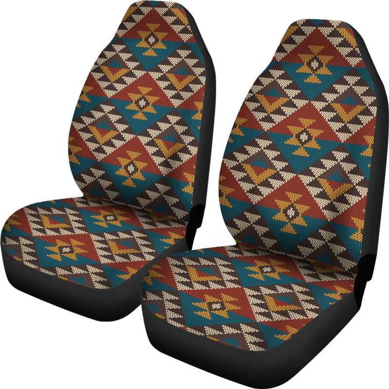 Knit Aztec Tribal Universal Fit Car Seat Covers