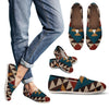 Knit Aztec Tribal Women Casual Shoes-JorJune.com