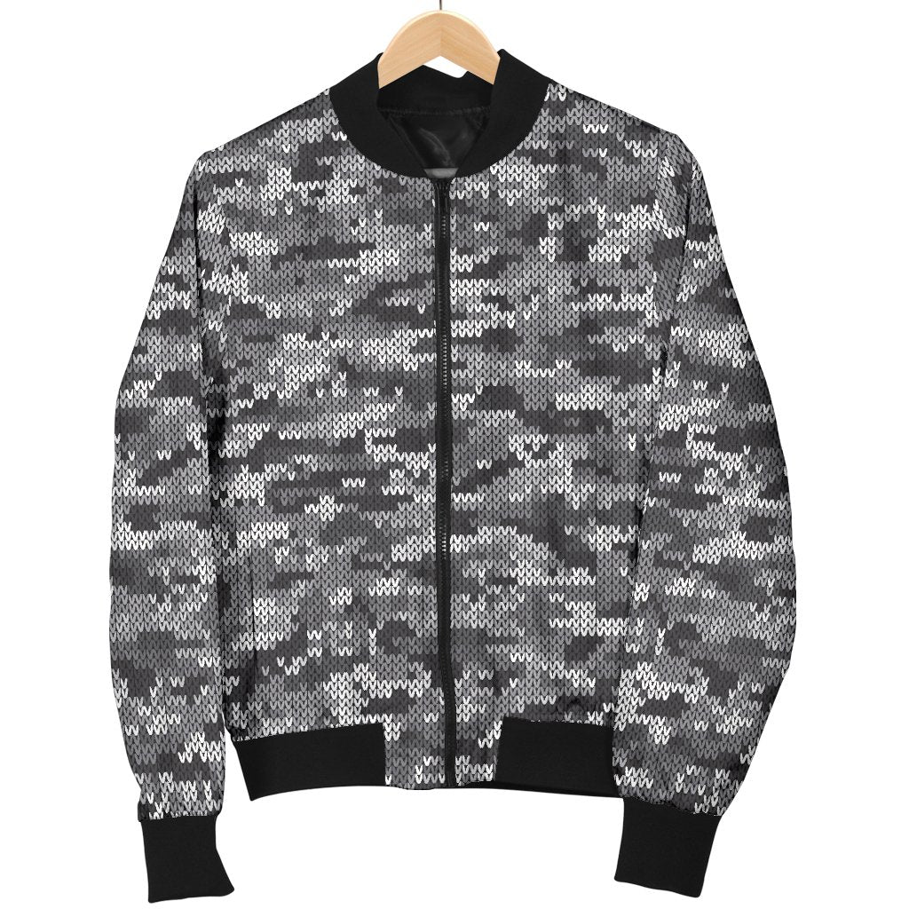 23b95707d5707 Size Guide. undefined. Size Chart. undefined. SIZE GUIDE. Product Details. Knit  Black White Camo Print Women Casual Bomber Jacket ...