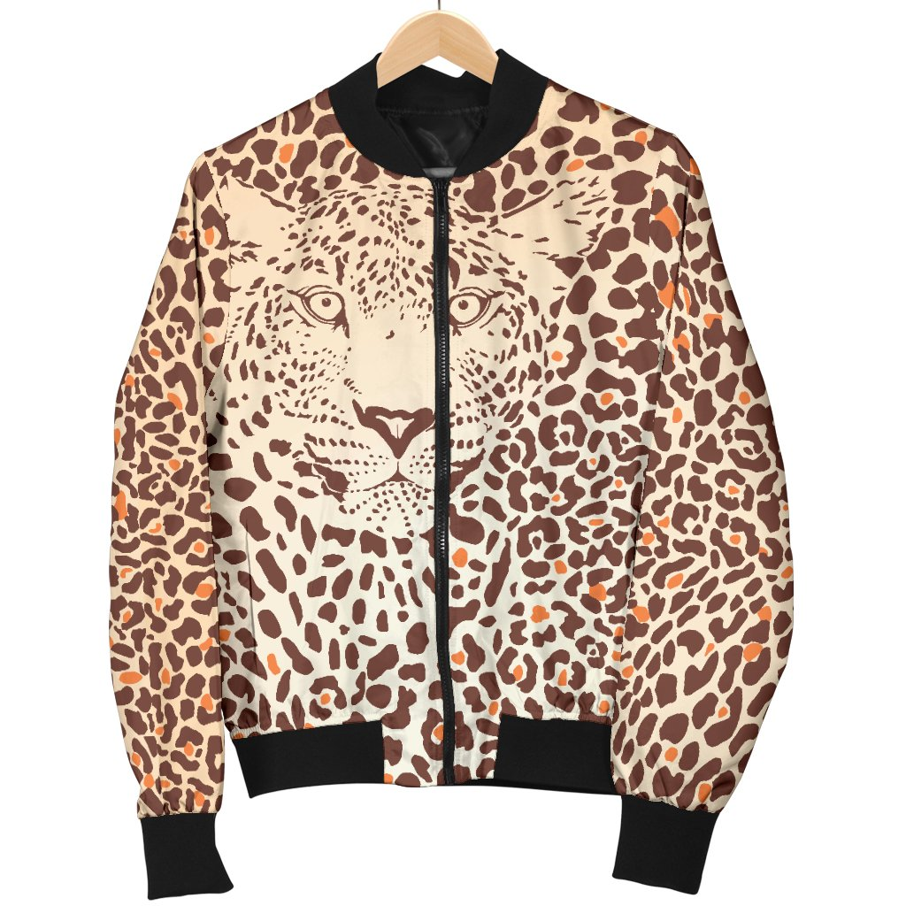 1c44d02f1c33 Size Guide. undefined. SIZE GUIDE. Product Details. Leopard Head Print Men  Casual Bomber Jacket ...
