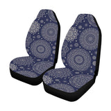 Mandala Pattern Print Design 02 Car Seat Covers (Set of 2)-JORJUNE.COM