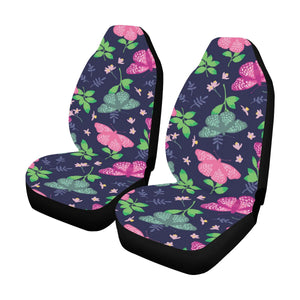 Monarch Butterfly Pattern Print Design 03 Car Seat Covers (Set of 2)-JORJUNE.COM