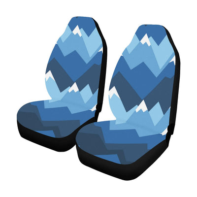 Mountain Pattern Print Design 04 Car Seat Covers (Set of 2)-JORJUNE.COM