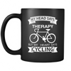 Mug black cycling therapy CYC2007