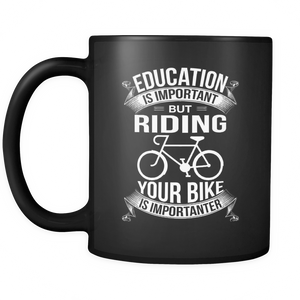 Mug black riding is importanter CYC2006